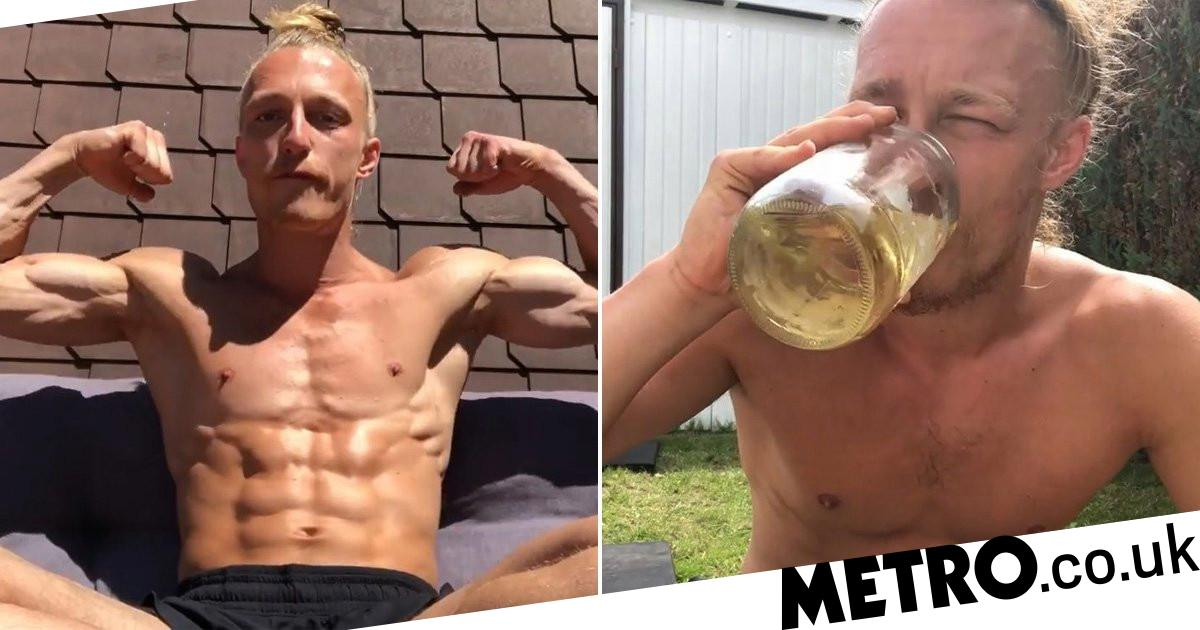 Man Shares Why He Drinks Up To Seven Pints Of His Own Urine A Day photo