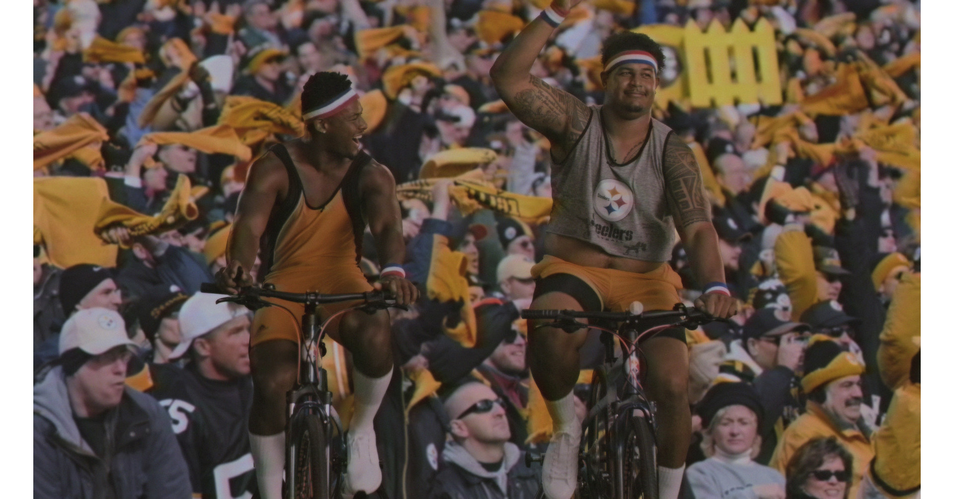 Pedal To The Metal? More Like Pedal To The Field: Pepsi® And Juju Smith-schuster Go For A Ride At Heinz photo