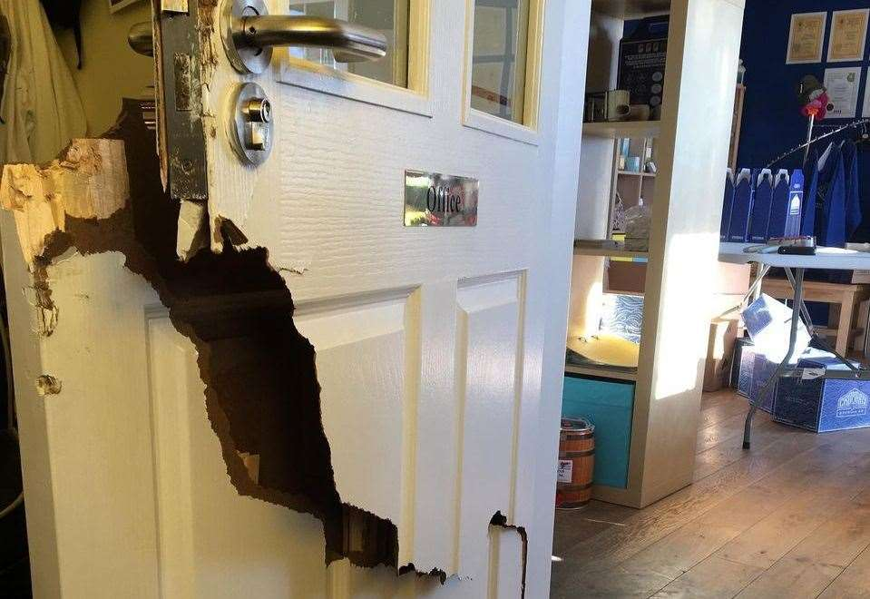 Thieves Smash Their Way Into Brewery Shop photo