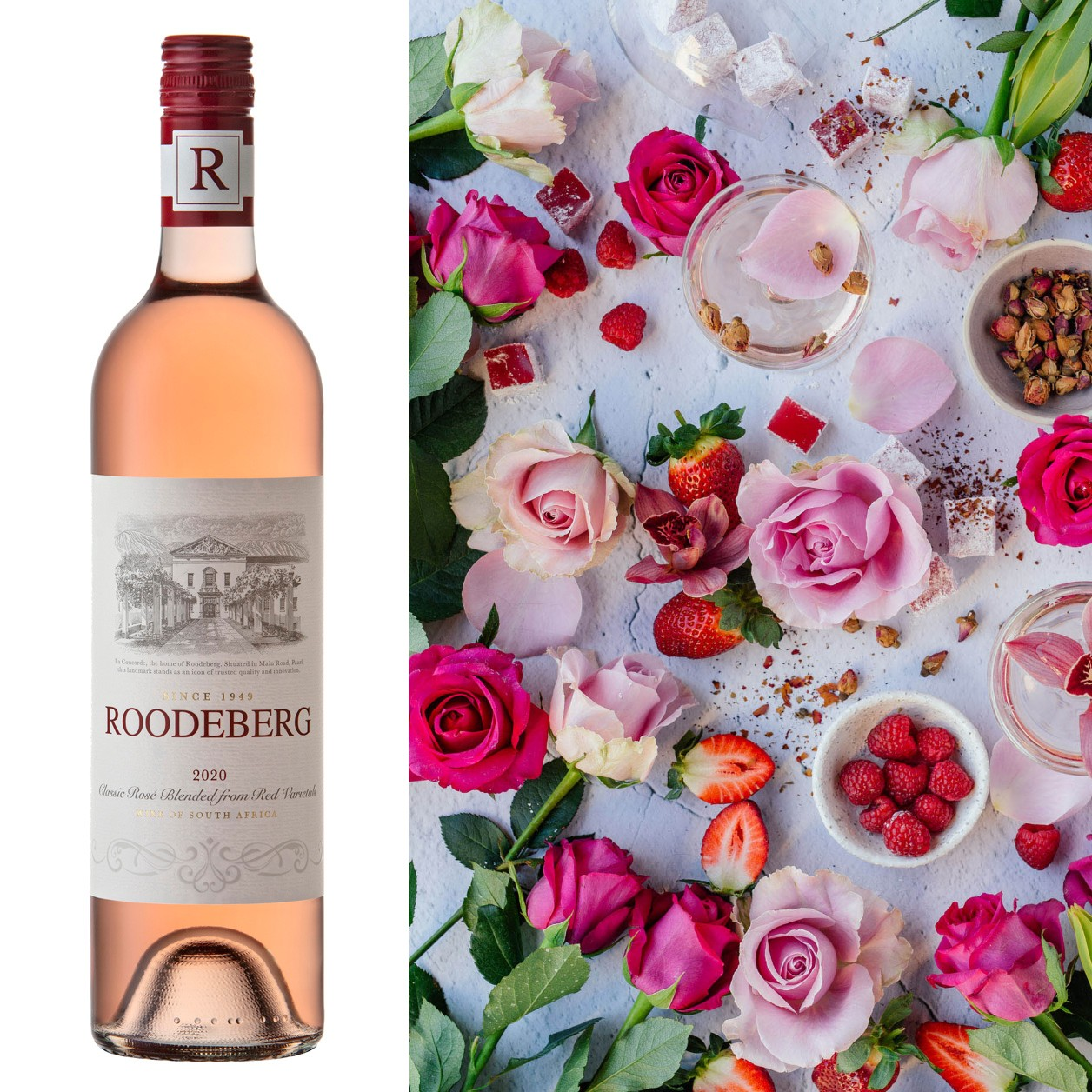 Revitalised Roodeberg Classic Rosé In Full Bloom For Spring photo