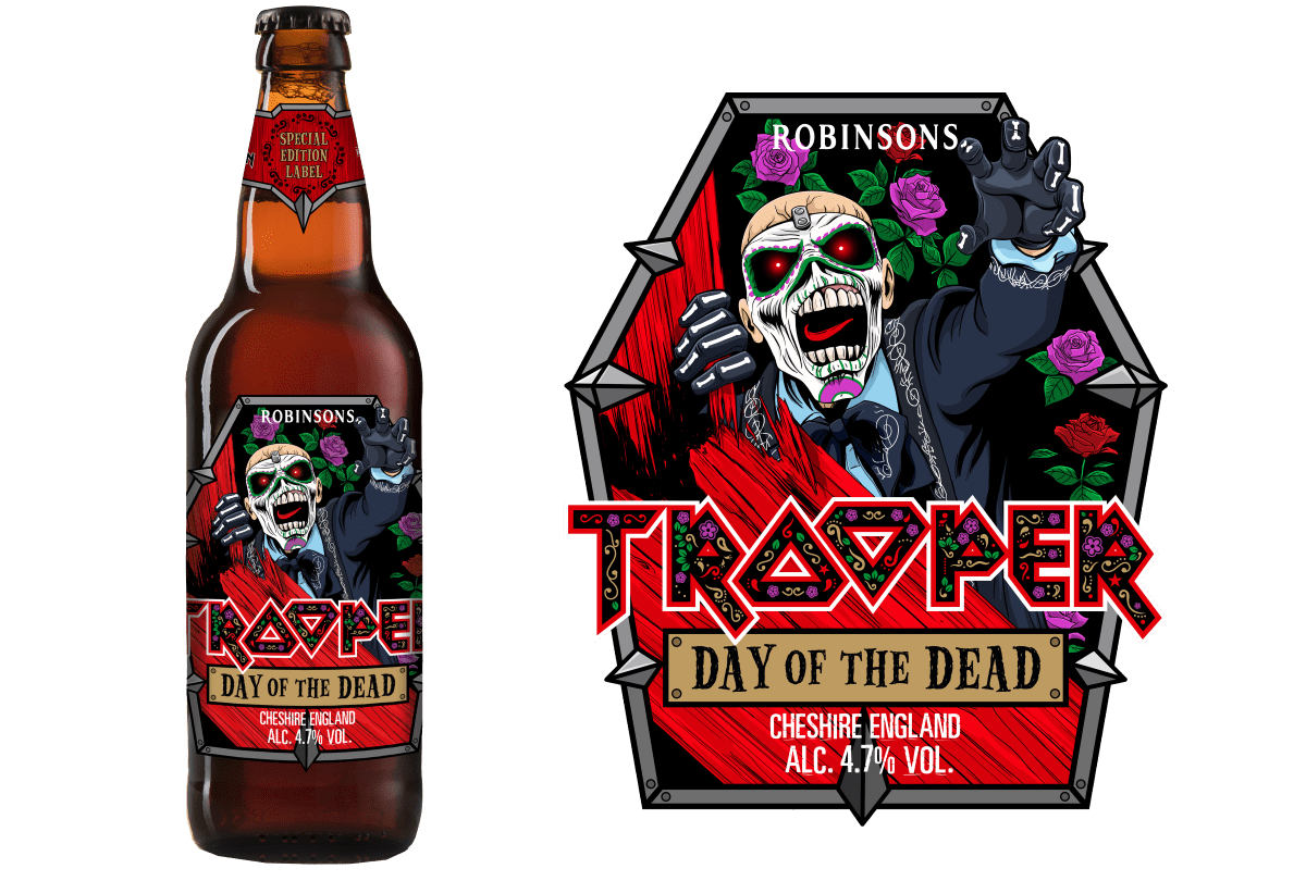 Robinsons Brewery Launches 2020 Edition Day Of The Dead Trooper photo