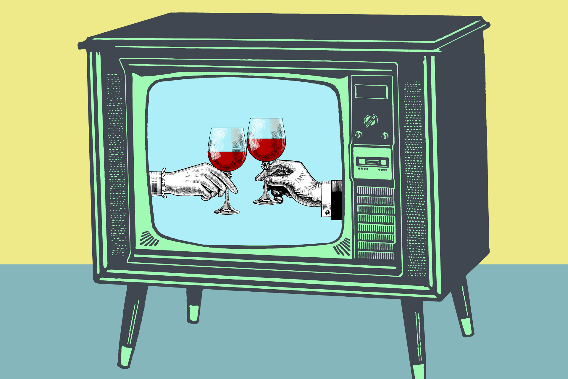 Red Wine Or Prosecco With A Gin Floater: How Tv Shows Use Drinks To Develop Characters photo