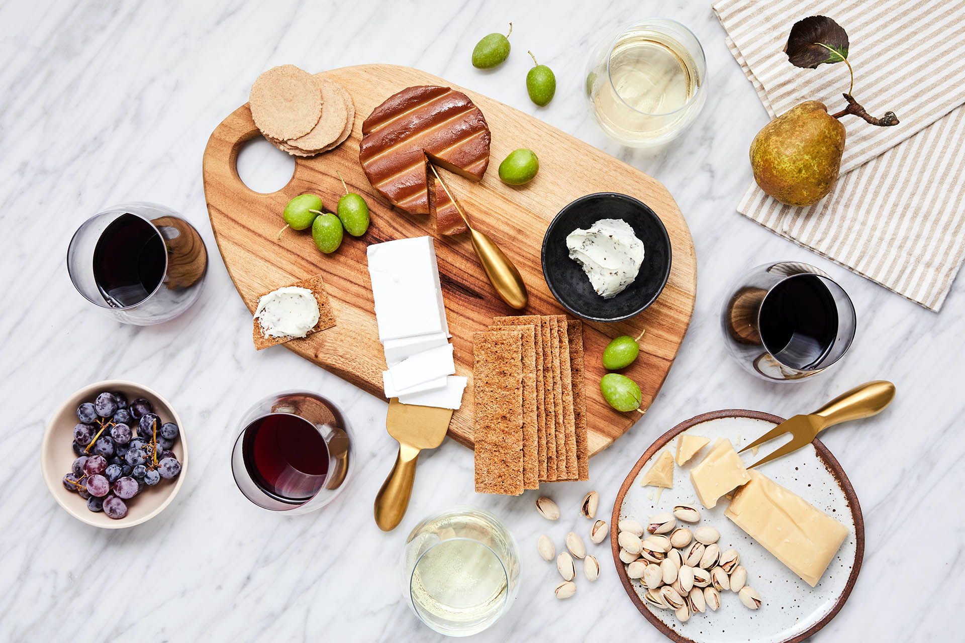 The Ultimate Guide To Vegan Cheese And Wine Pairings photo