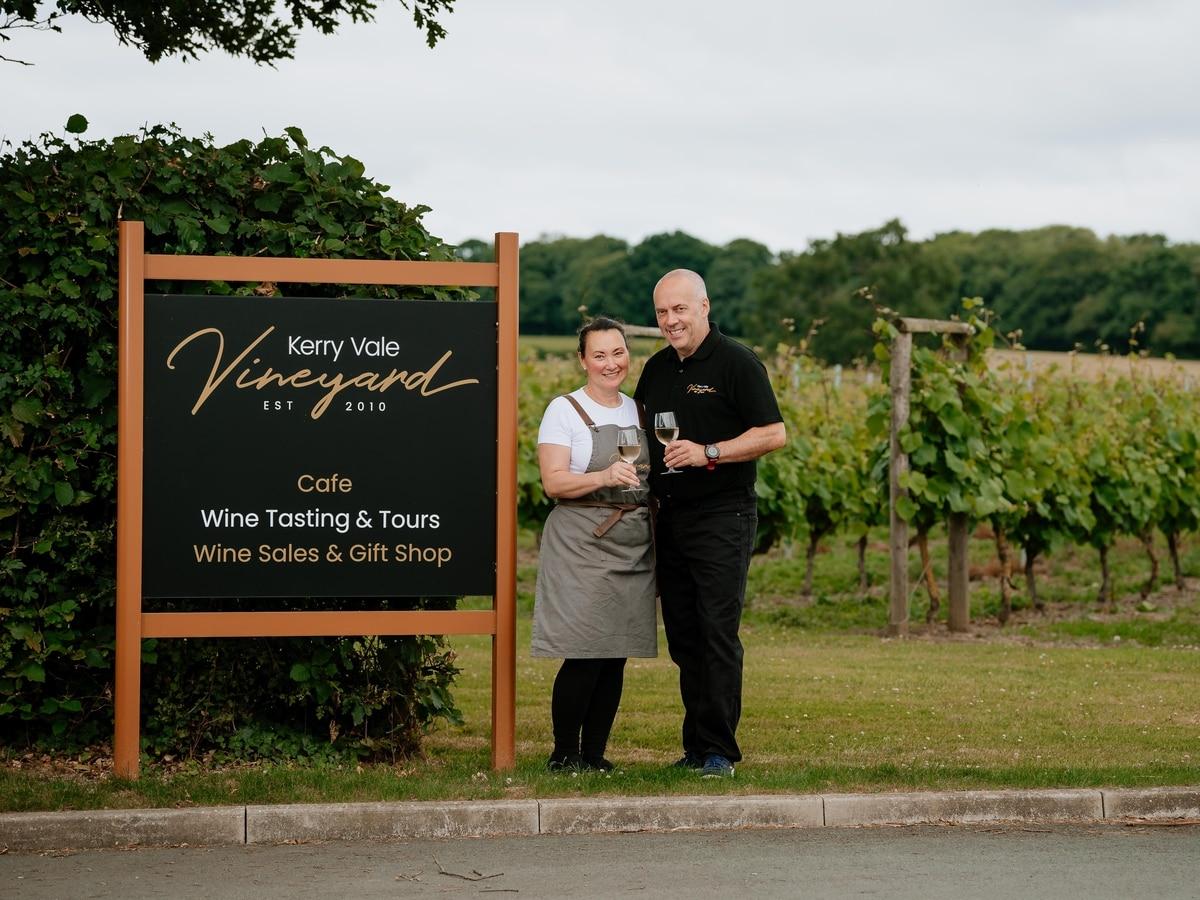 Kerry Vale Vineyard Toasts Award For Feedback photo