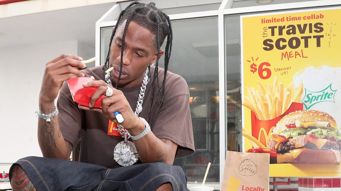 Mcdonald's Popular Travis Scott Meal Now Available For $6 With Fast-food Chain's Mobile App Through Oct. 4 photo