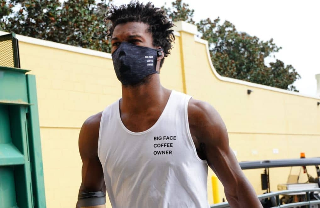 NBA Star Jimmy Butler Files For Trademark Of Big Face Coffee photo