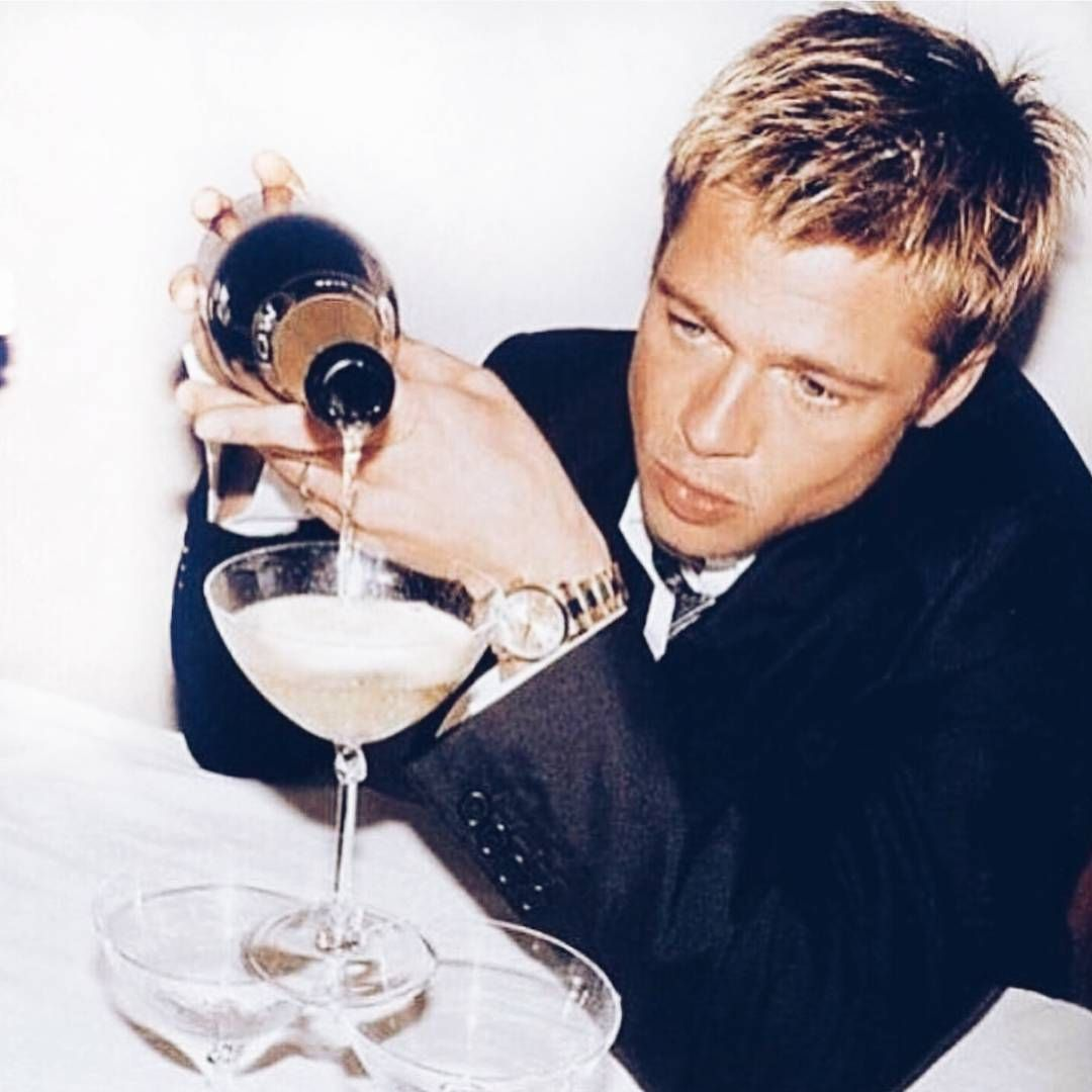 Brad Pitt Launches The World's First Champagne House Dedicated Exclusively To Rosé photo