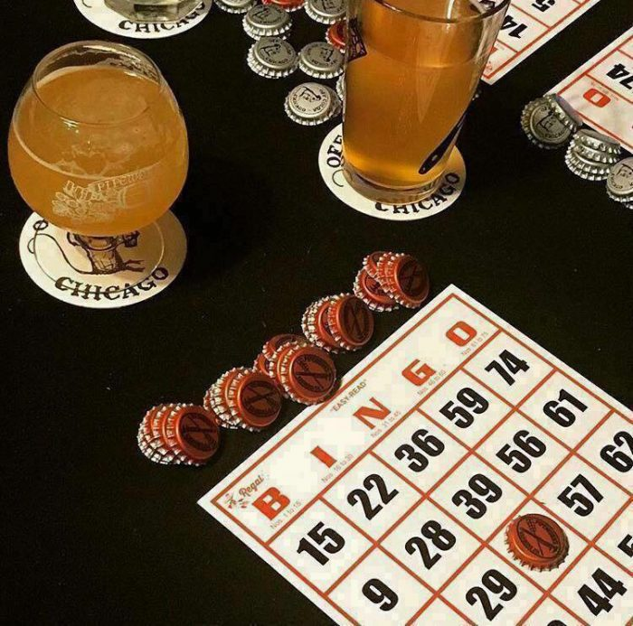 brass tap bingo 700x693 The Best Drinking Games You Can Play At A Bar