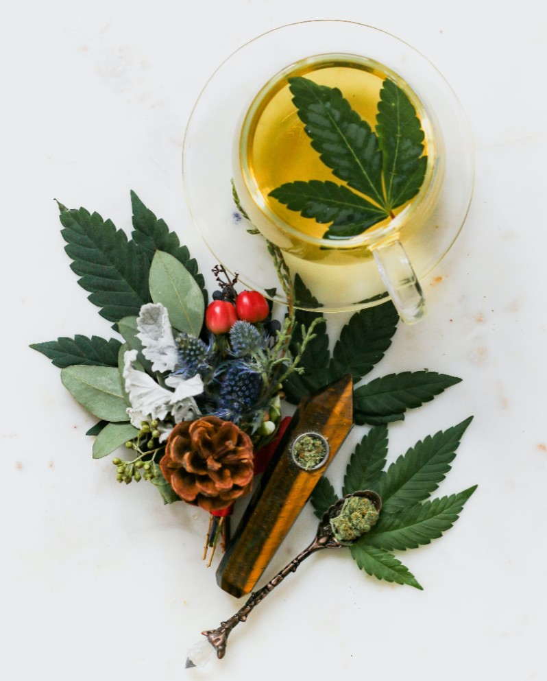 How To Make Cannabis-Infused Tea photo