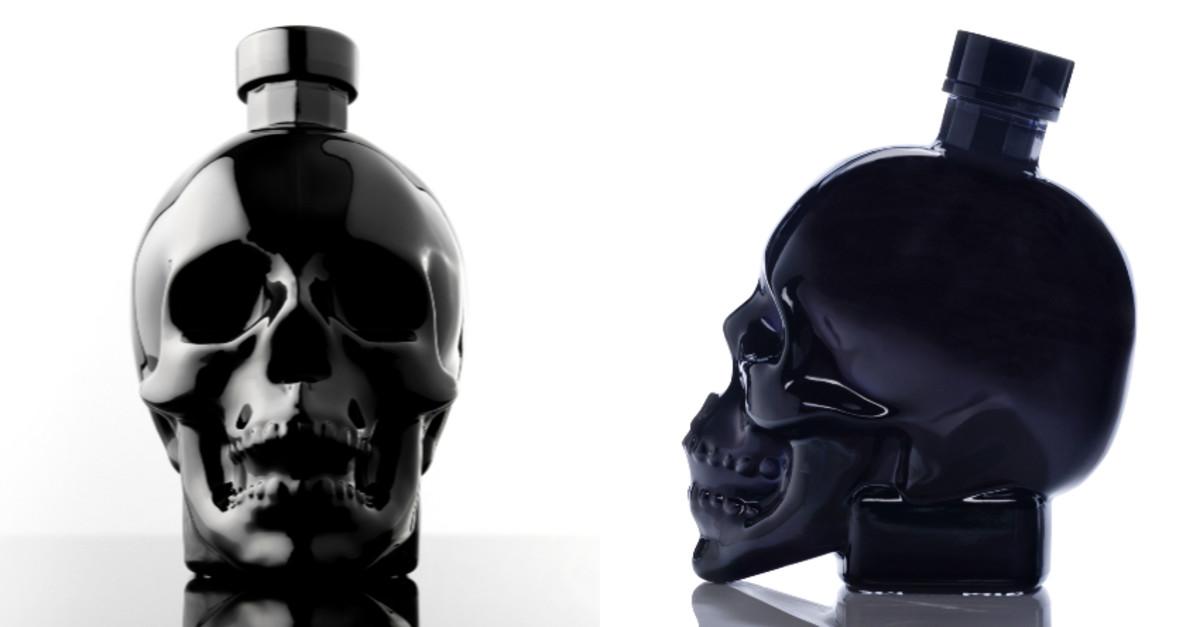 Crystal Head Onyx Vodka Gets Dark With Black Skull Bottle photo