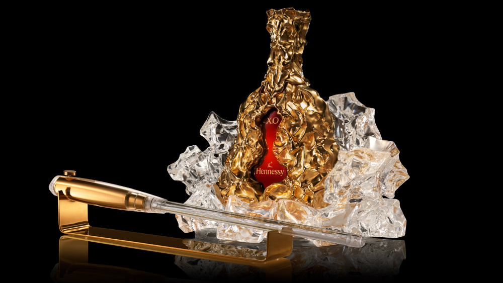 Frank Gehry Gave This Limited-edition Bottle Of Hennessy A Sculptural Makeover photo