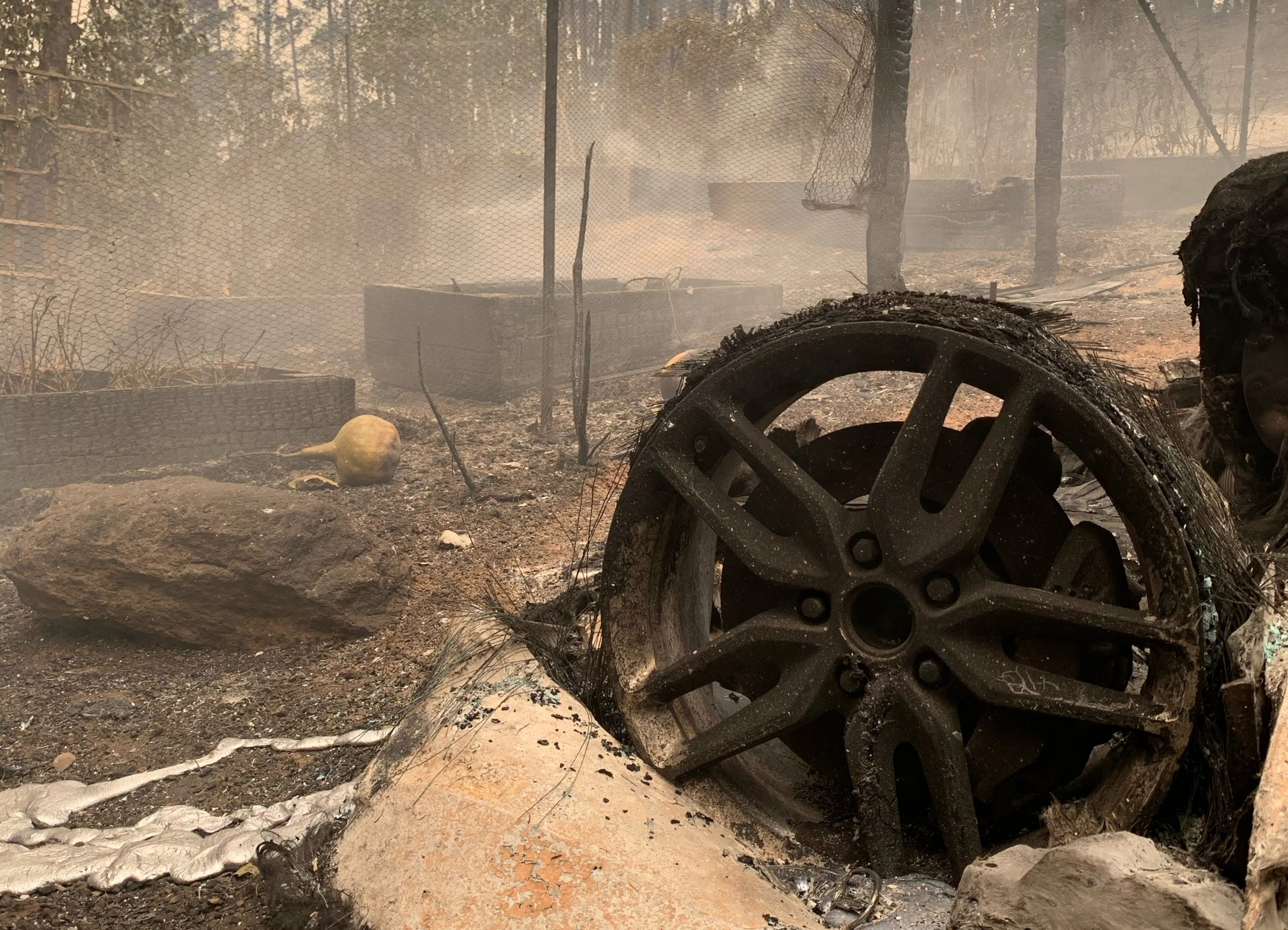 Napa And Sonoma Burn Again. Horribly. : Vinography photo