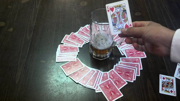 kings setup 700x394 The Best Drinking Games You Can Play At A Bar