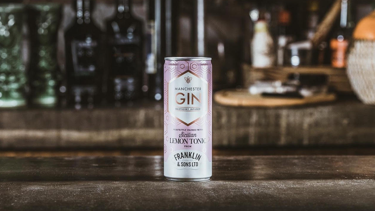 You Can Now Get Manchester Gin Tinnies In Tesco Supermarkets photo