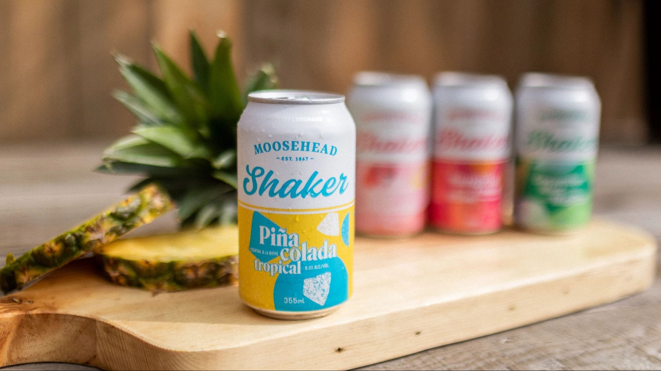 Moosehead Tropical Piña Colada Shaker Named Best Experimental Beer At Canadian Brewing Awards photo