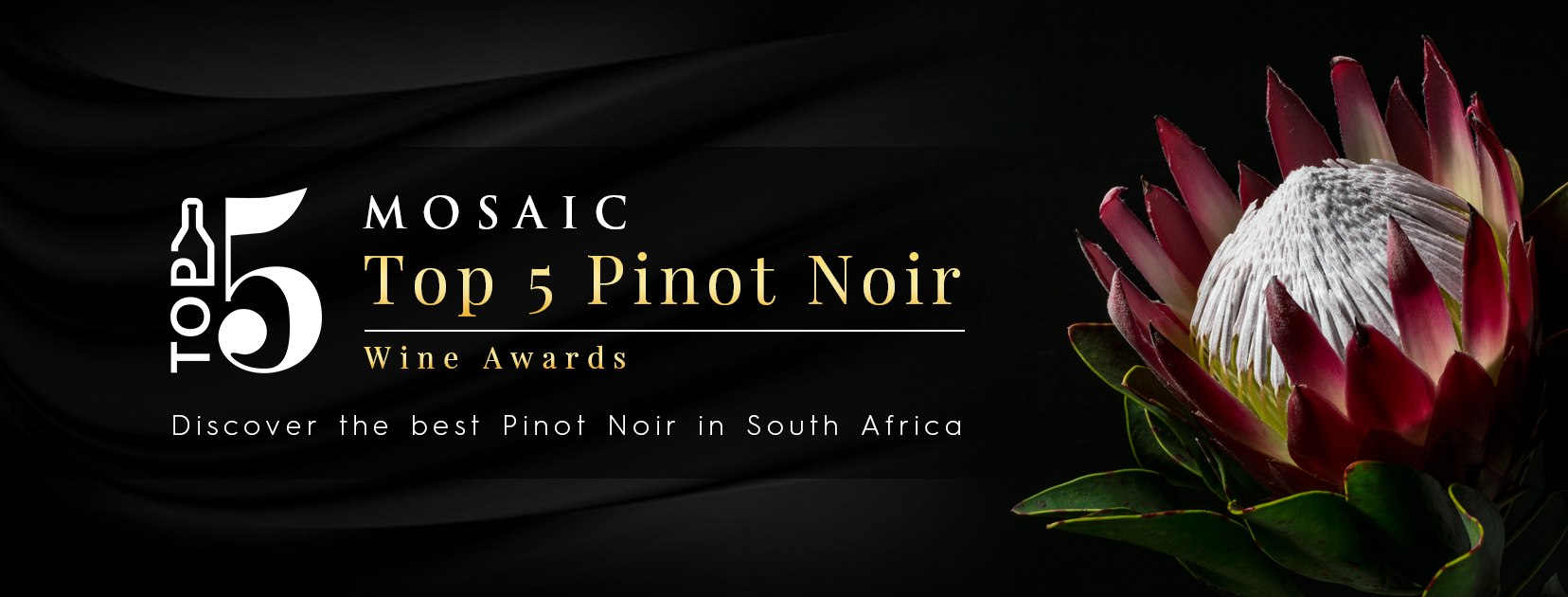 Top 5 Pinot Noirs In South Africa Announced At Inaugural 2020 Mosiac Wine Awards photo