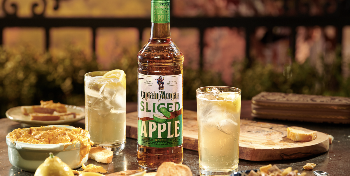 Captain Morgan Is Selling Sliced Apple Spiced Rum And It's About To Become Your Go-to Fall Spirit photo