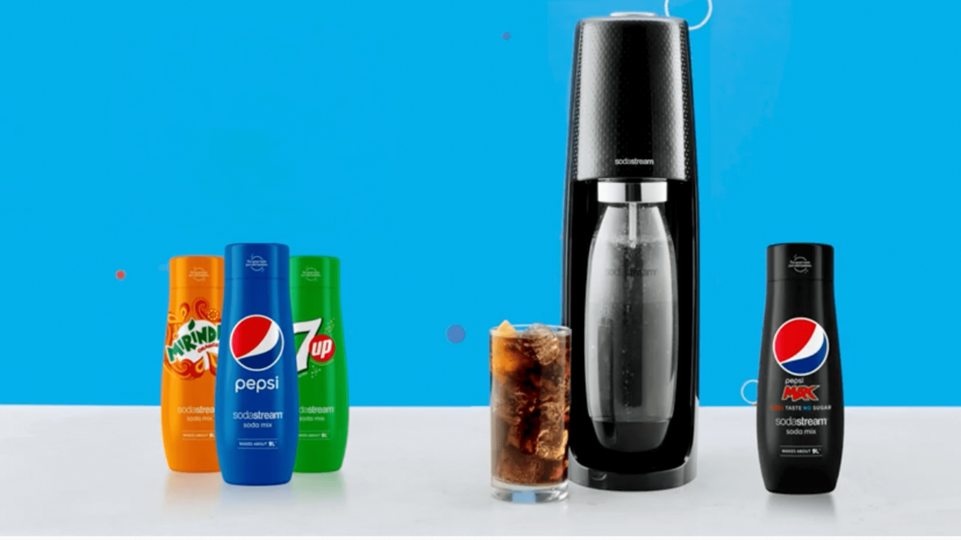 You Can Now Make Real Pepsi At Home With Your Sodastream photo
