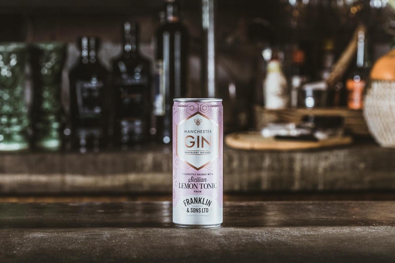 Franklin & Sons And Manchester Gin Bring A Splash Of Pink To The North photo