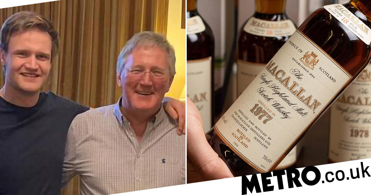 Man Whose Dad Gave Him Macallan Whisky Every Birthday Sells It To Buy A Home photo