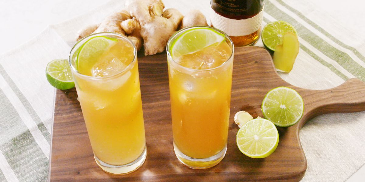 This Ginger Lime Highball Gets High Praise From Us photo