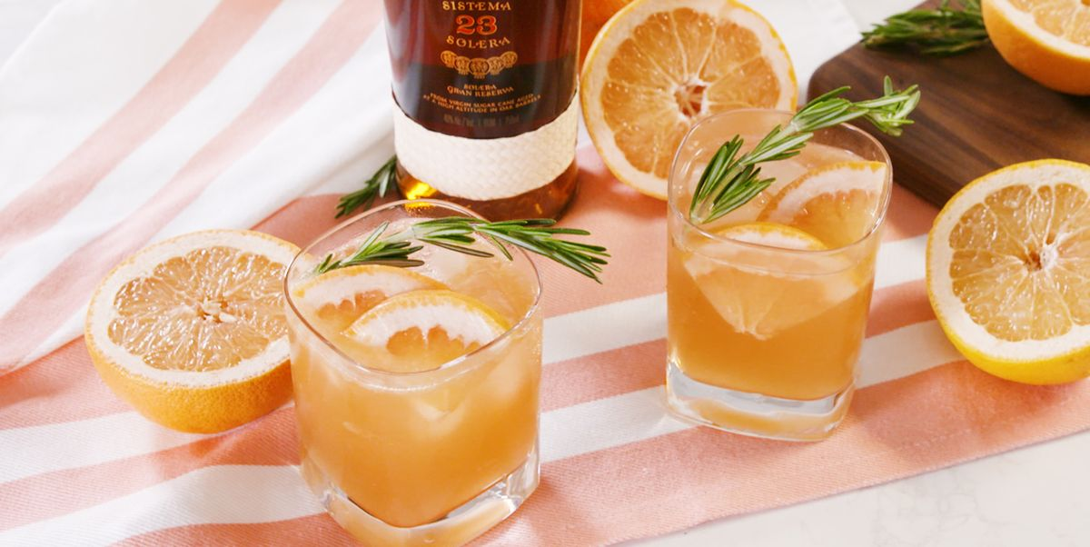 The Grapefruit-rosemary Rum Smash Will Be Your Drink Of The Season photo