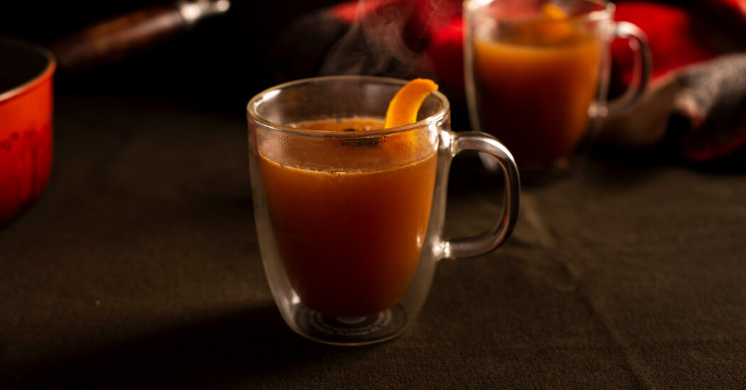 Warm Up With Cider Cocktails photo