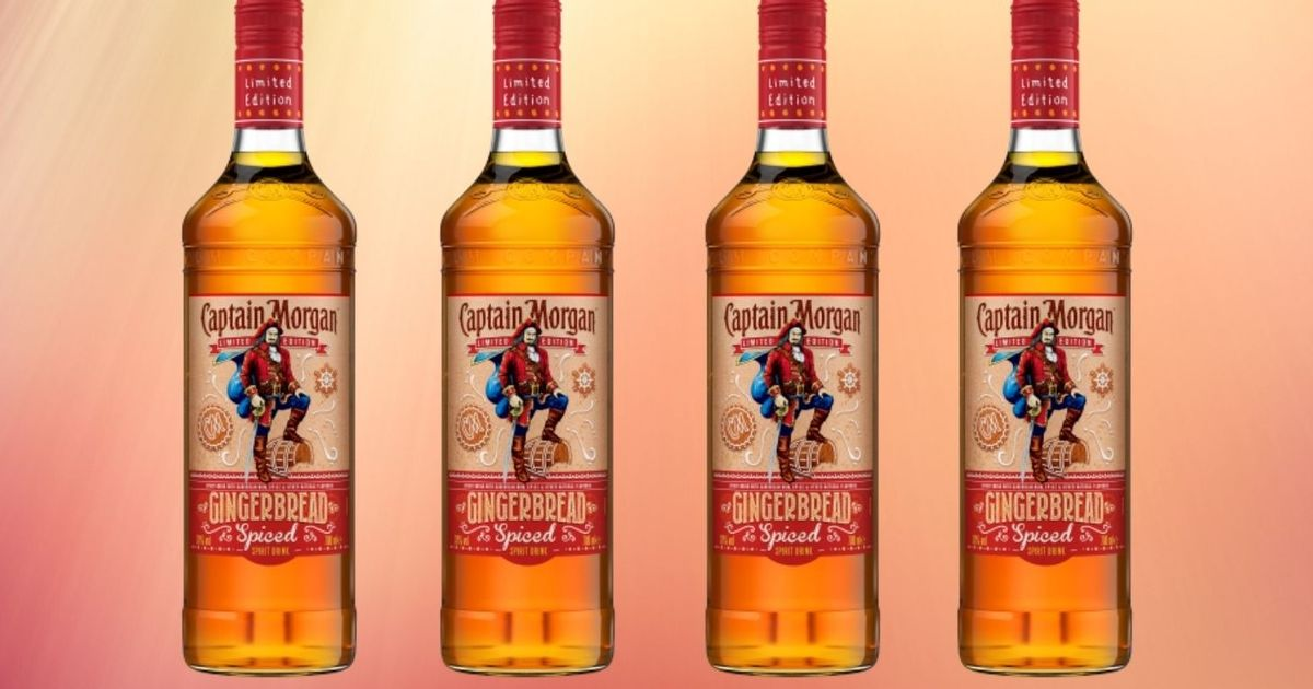 Captain Morgan's Gingerbread Spiced Rum Is Back In Time For The Festive Season photo