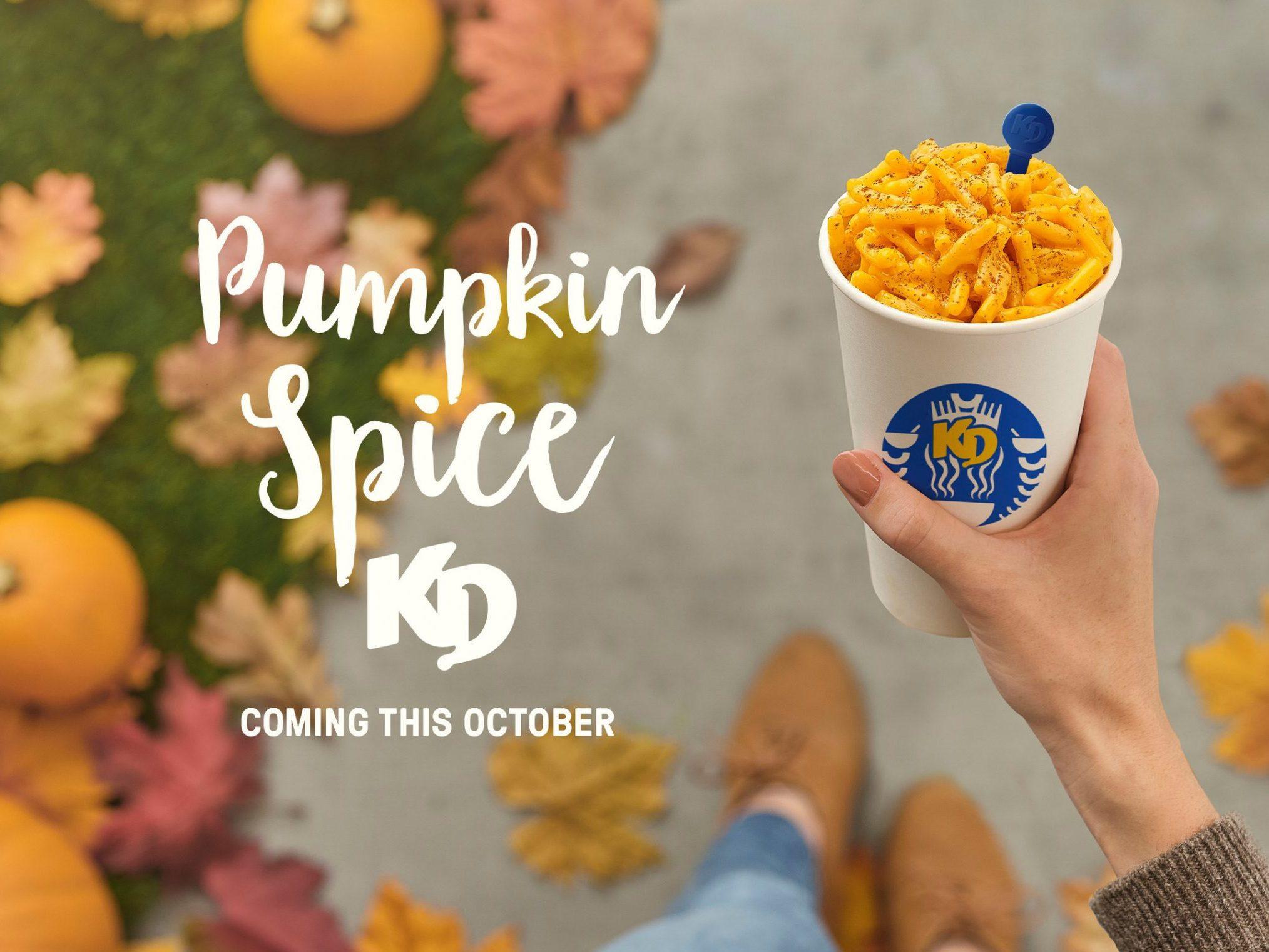 Kraft Dinner Releasing Limited Edition Pumpkin Spice Kd photo