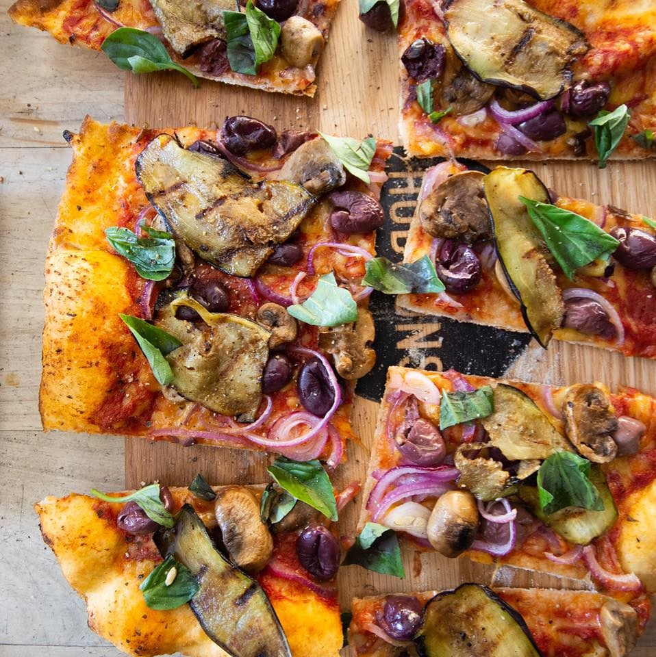 Two standard pizzas with 2 extra toppings photo