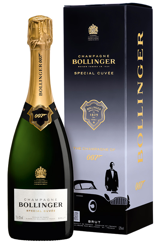 Champagne Bollinger Celebrate The Release Of No Time To Die With Special Cuvée Limited Edition 007 Gift Pack photo