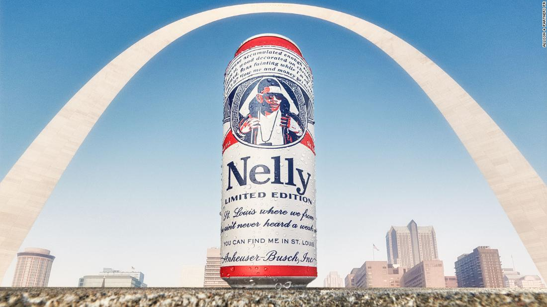 Nelly Is Appearing On A Line Of Limited-edition Budweiser Cans photo