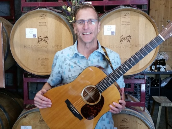 Local Event: Live Music @ Big Dog Vineyards Featuring Tom Jackman photo