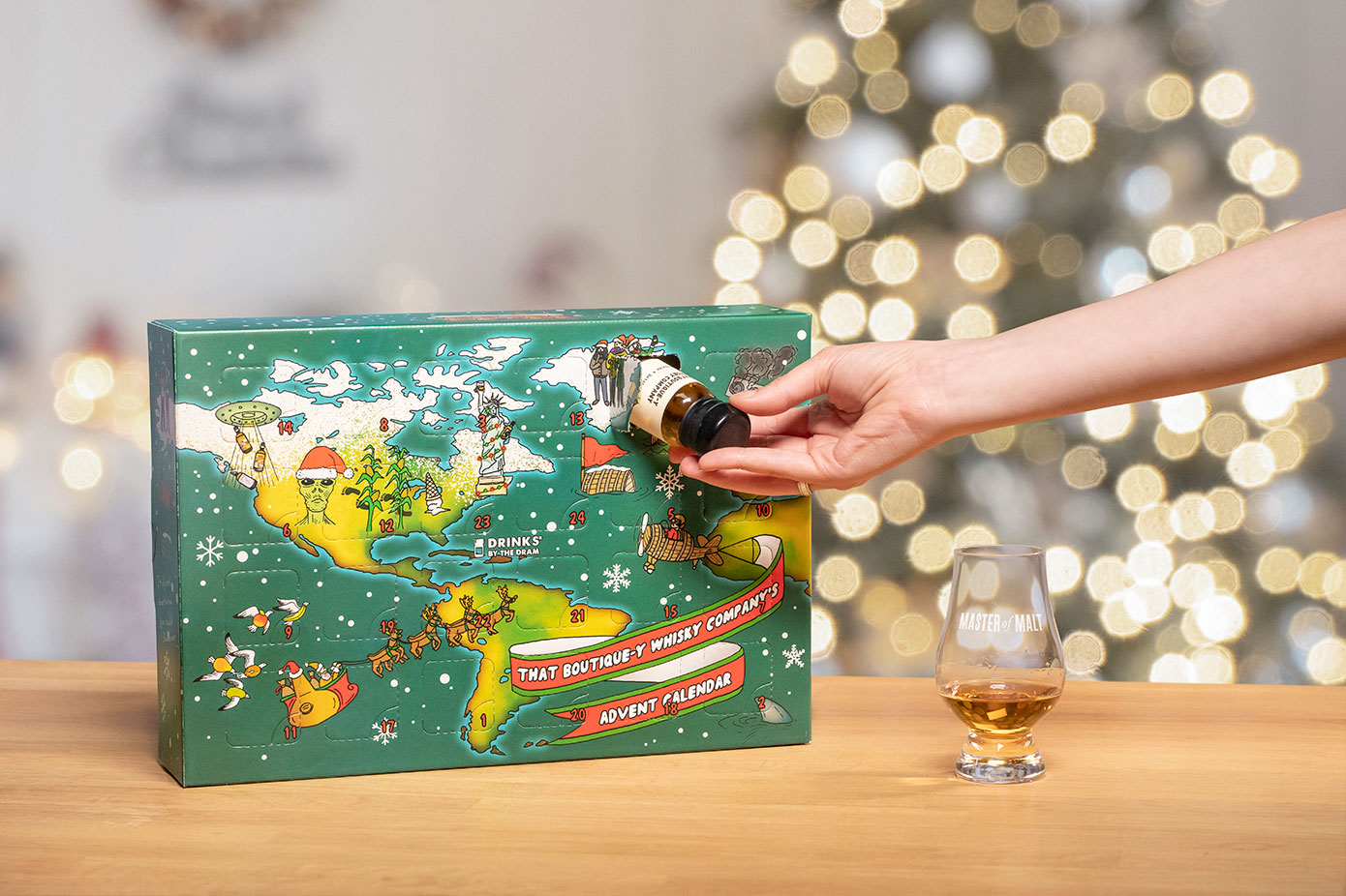 There's A Whiskey Advent Calendar If Gin Isn't Your Thing photo