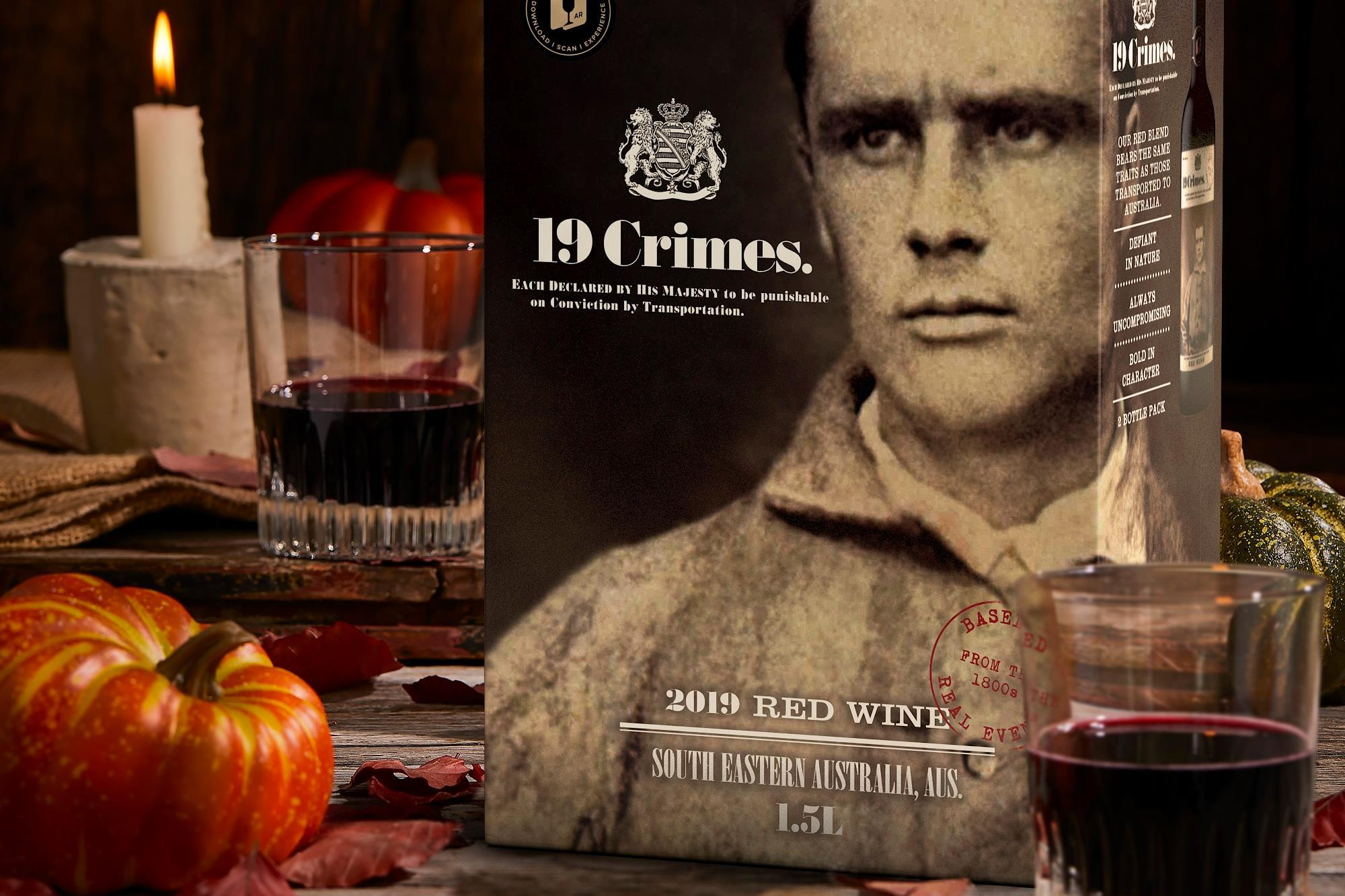 Treasury Wine Estates Pours 19 Crimes Into Bag-in-box Format photo