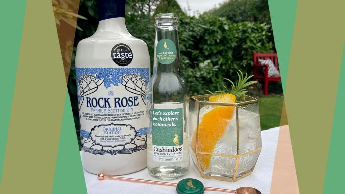 Gin Cocktail Recipe: Cushie Rock Rose photo