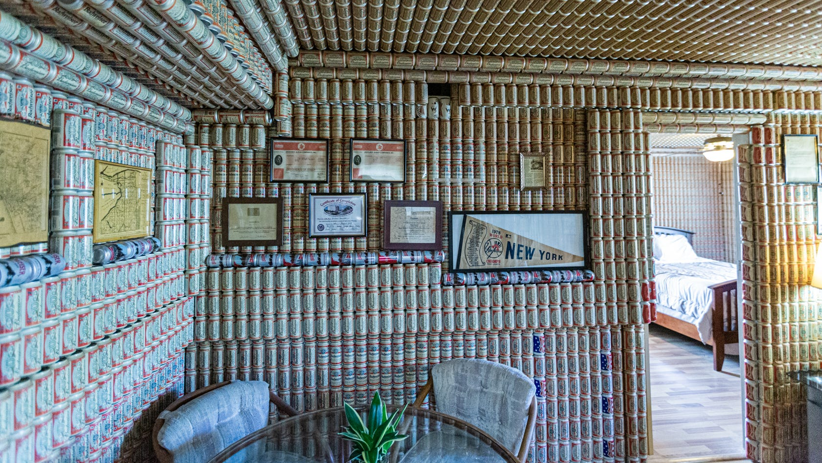House Of Budweiser: Lake Worth Beach Condo Covered In 5,000+ Beer Cans Quickly Sells photo
