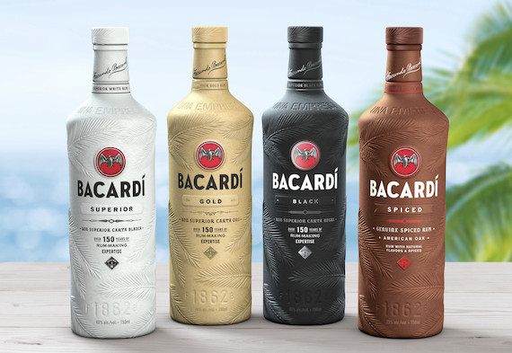 Bacardi Unveils World's First Biodegradable Spirts Bottle photo