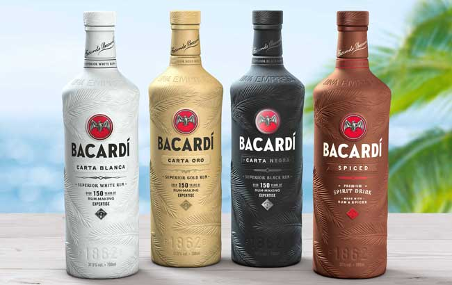 Bacardi Unveils Biodegradable Bottles Made From Plant-based Material photo