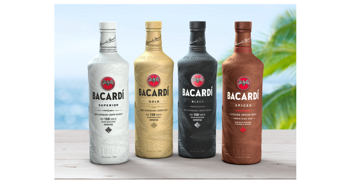 Bacardi First In Fight Against Plastic Pollution With 100% Biodegradable Spirits Bottle photo