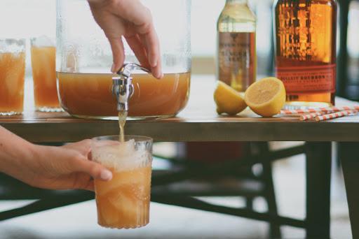 Big batch cocktails Trending Wedding Drinks and Cocktails