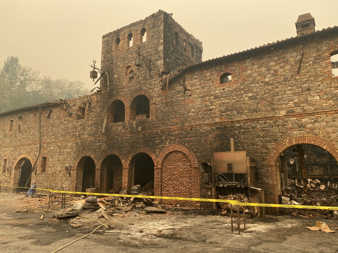 Castello Di Amorosa Winery Suffers Millions Of Dollars' Worth Of Losses In Glass Fire photo