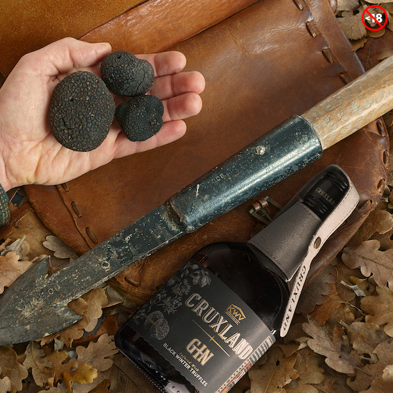 Introducing Cruxland Gin Infused With Black Winter Truffle photo
