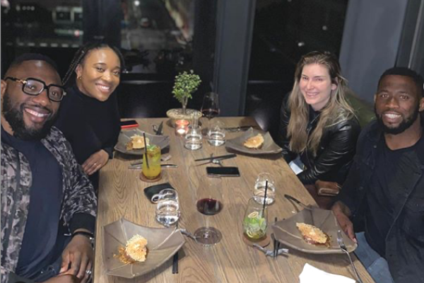 Spotted: Siya Kolisi And Beast Out For Dinner At Top Sa Restaurant photo