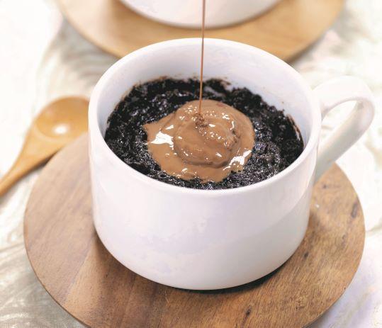 Celebrate National Chocolate Cupcake Day With Gooey Chocolate Mug Cakes photo