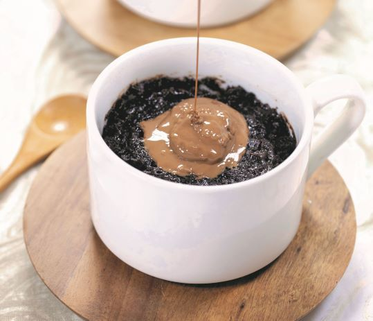 Celebrate National Chocolate Cupcake Day With Gooey Chocolate Mug Cakes photo