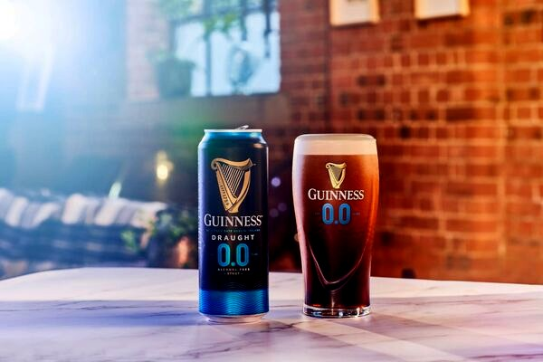 Guinness Goes Guilt-Free With Non-Alcoholic Stout photo