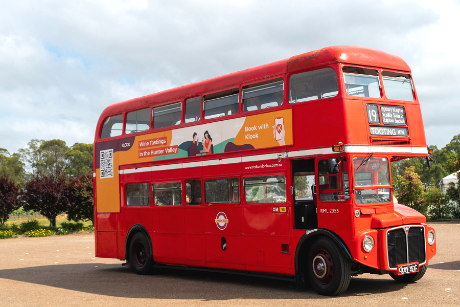 Tour Talk: You Can Now Drink Your Way Around Hunter Valley On A London-style Double Decker Bus photo