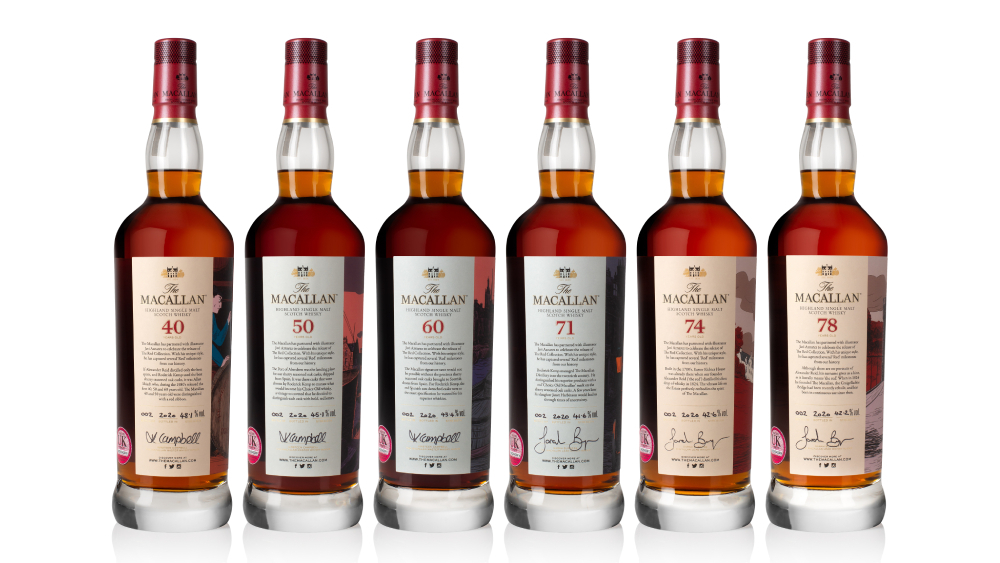 A Rare Macallan Collection, Including The Oldest Aged Whisky Up For Auction, Is Coming To Sotheby's photo