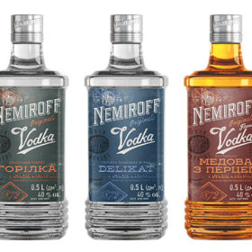 Nemiroff Vodka Unveils New Bottle Design photo